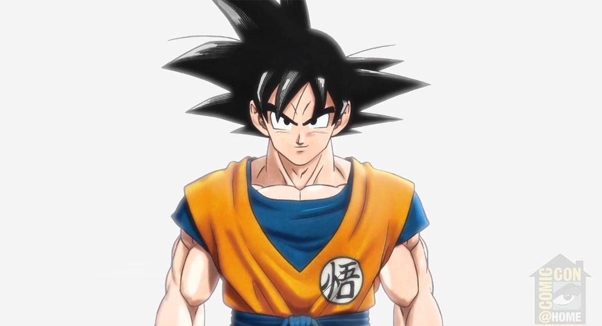 "Así lucirá Gokú en la nueva película de ""Dragon Ball Super"". Foto: Twitter @dragonballsuper"