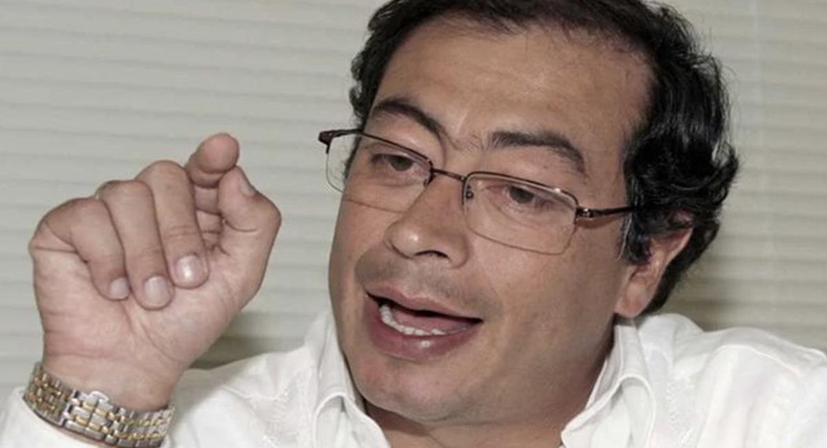 Gustavo Petro será demandado por el empresario Alfred Santamaría por vincularlo con Antonio Intriago. Foto: Twitter @josefer20636485