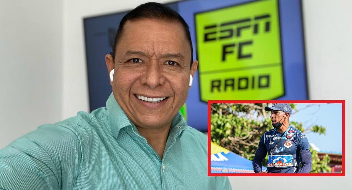 Iván René Valenciano muy crítico con Amaranto Perea. Foto: Instagram Prensa redes Selección Colombia.