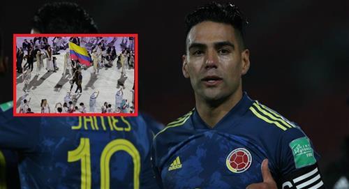 Falcao y su bello mensaje para Colombia en los Olímpicos