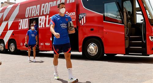 El colombiano jugó con el Atlético de Madrid