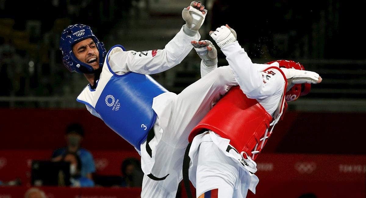 Jefferson Ochoa vs Armin Hadipour. Foto: EFE