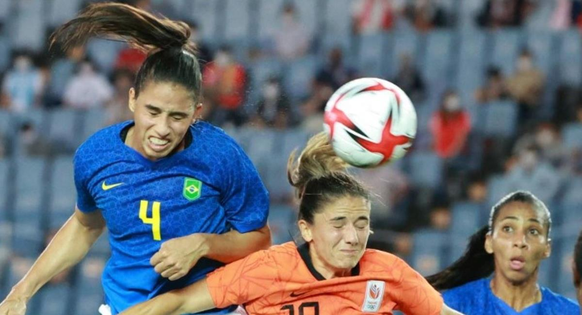 Holanda vs Brasil. Foto: Andina