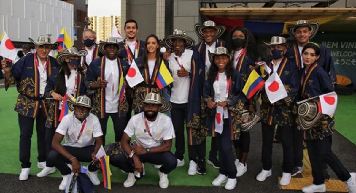 Atletas colombianos sueñan con alcanzar lo más alto del podio en Tokio 2020. Foto: Instagram Redes Comité Olímpico Colombiano