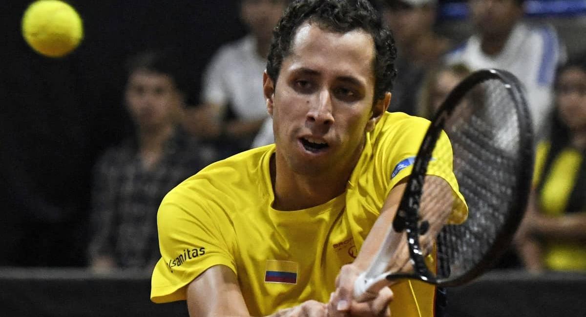 Daniel Galán. Foto: AFP
