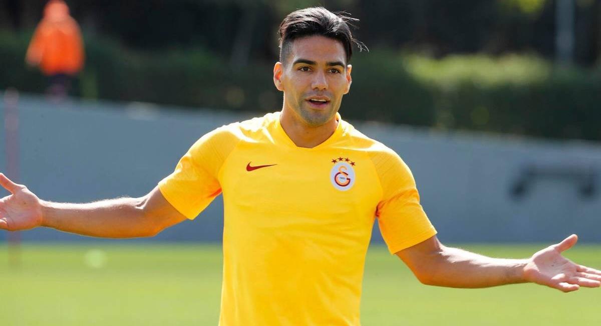 Radamel Falcao García. Foto: Galatasaray