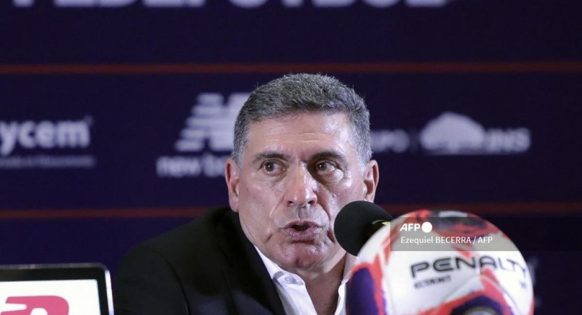 Luis Fernando Suárez. Foto: AFP