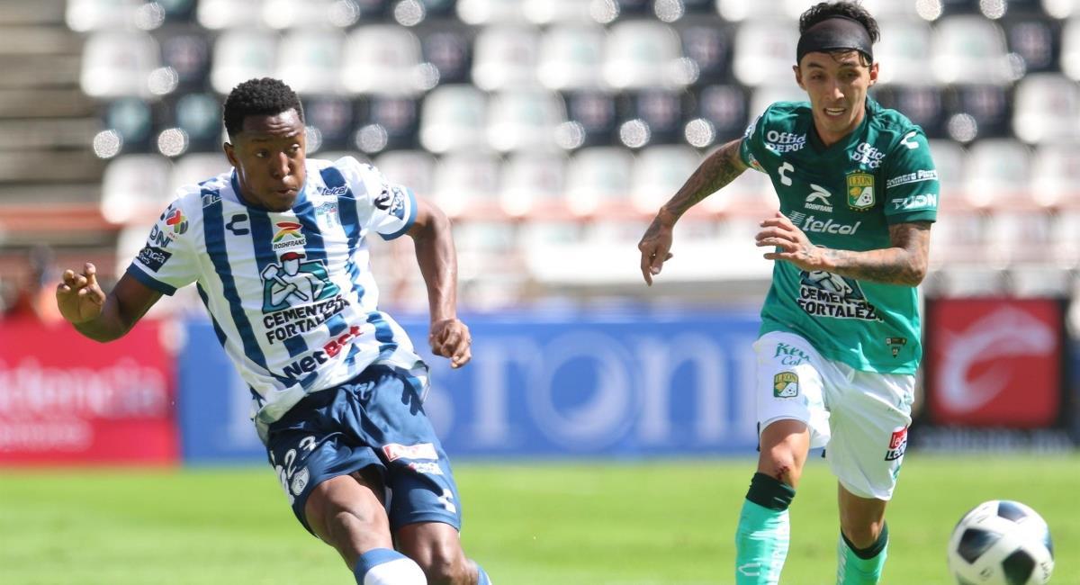 Pachuca goleo al León en la Liga MX. Foto: EFE