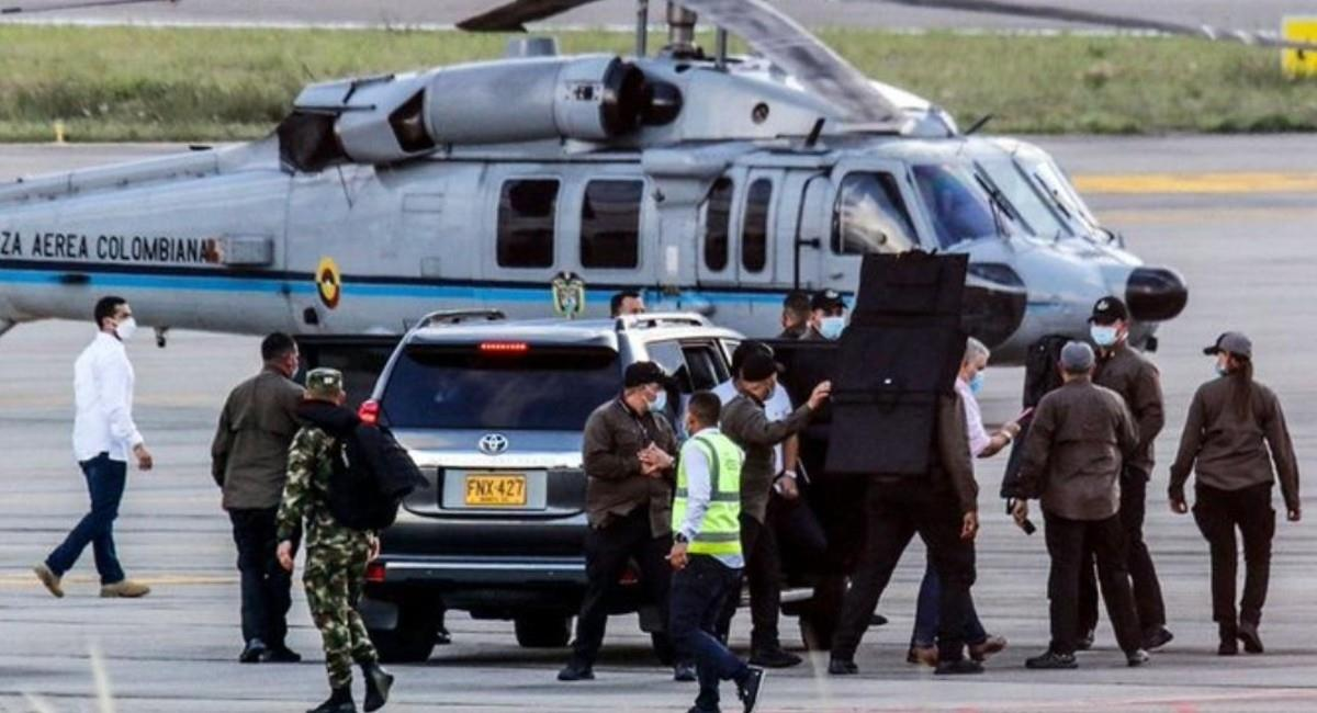 El capitán capturado tenía planeado otro ataque en Bogotá. Foto: Twitter @247DigitalWeb