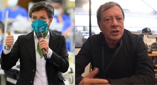Choque en Twitter entre Claudia López y Mario Hernández por huecos en Bogotá