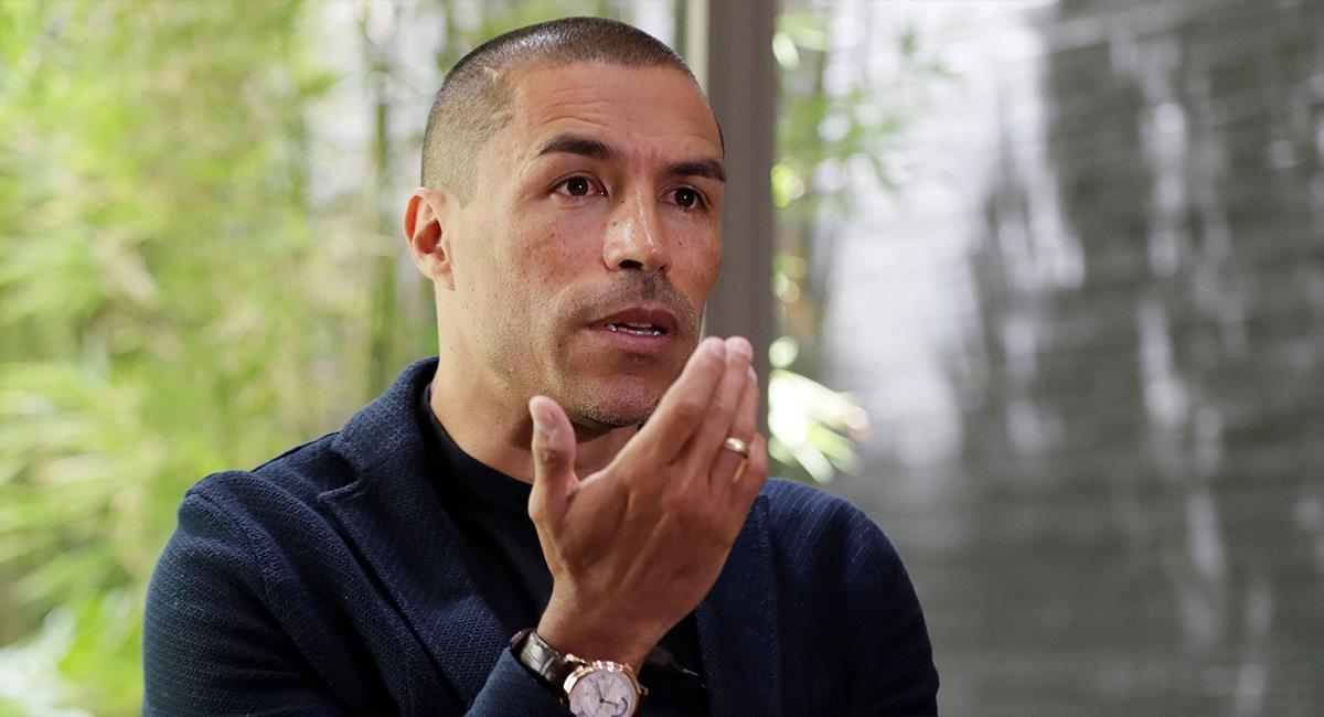 Ex jugador del Inter de Milán en entrevista a EFE. Foto: EFE