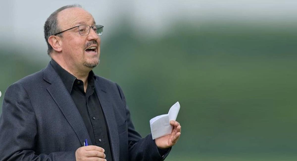 Rafael Benítez Director Técnico del Everton. Foto: Instagram Everton
