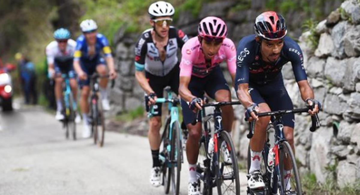 Egan Bernal favorito para el título de la Vuelta a España. Foto: Instagram Egan Bernal