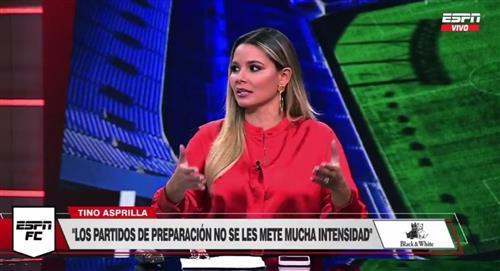 Críticas a Melissa Martínez hinchas de Millonarios partido Everon Florida Cup