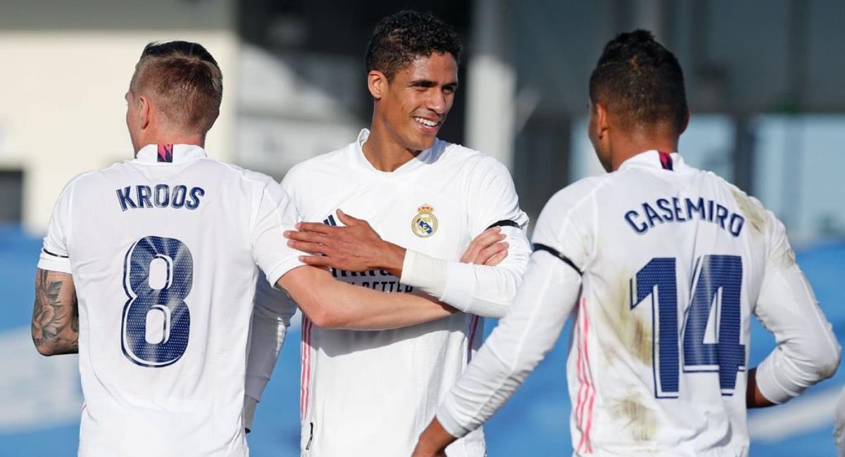 Varane deja el Real Madrid. Foto: Twitter Prensa redes Real Madrid.