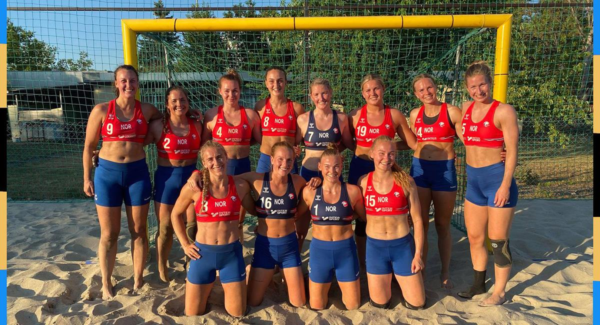Indignación por multa impuesta a equipo femenino de Noruega por no usar bikini. Foto: Twitter @amnesty