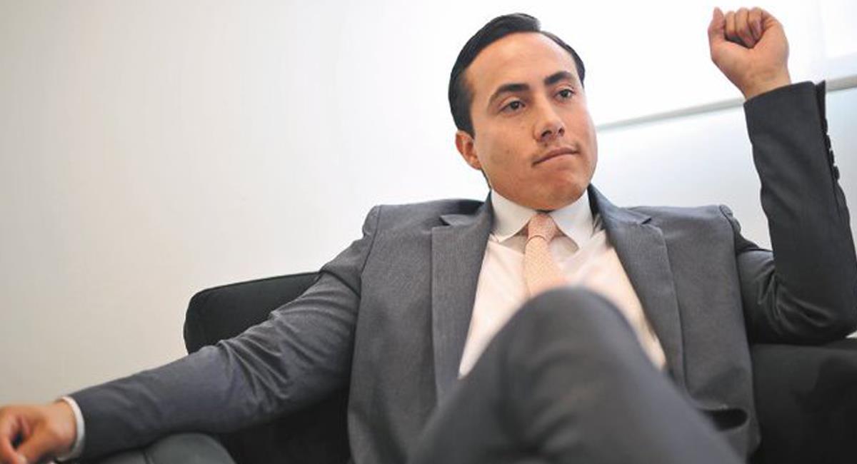 Richard Aguilar fue gobernador de Santander entre el 2012 y el 2015 y actualmente es senador de la República. Foto: Twitter @elespectador
