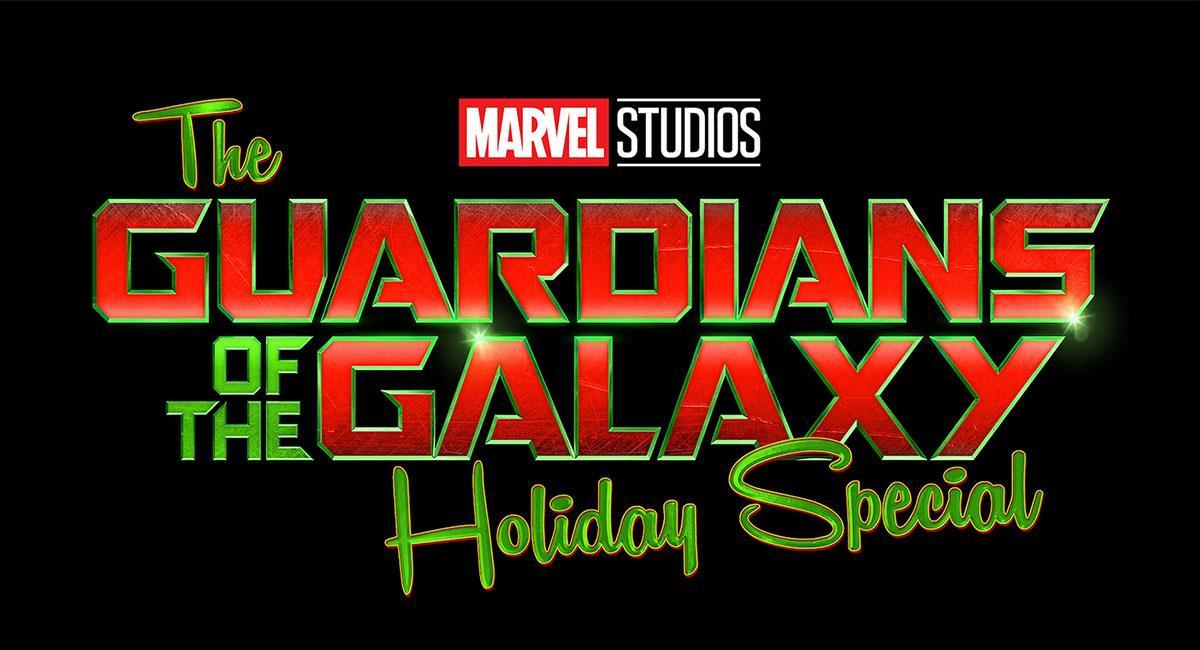 "Así luce el logo del especial de Navidad de ""Guardianes de la Galaxia"". Foto: Twitter @MarvelStudios"
