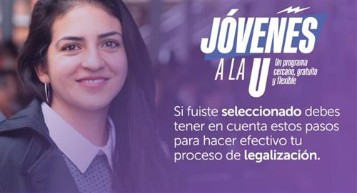 'Jóvenes a la U', este es el paso a paso para legalizar el proceso de admisión