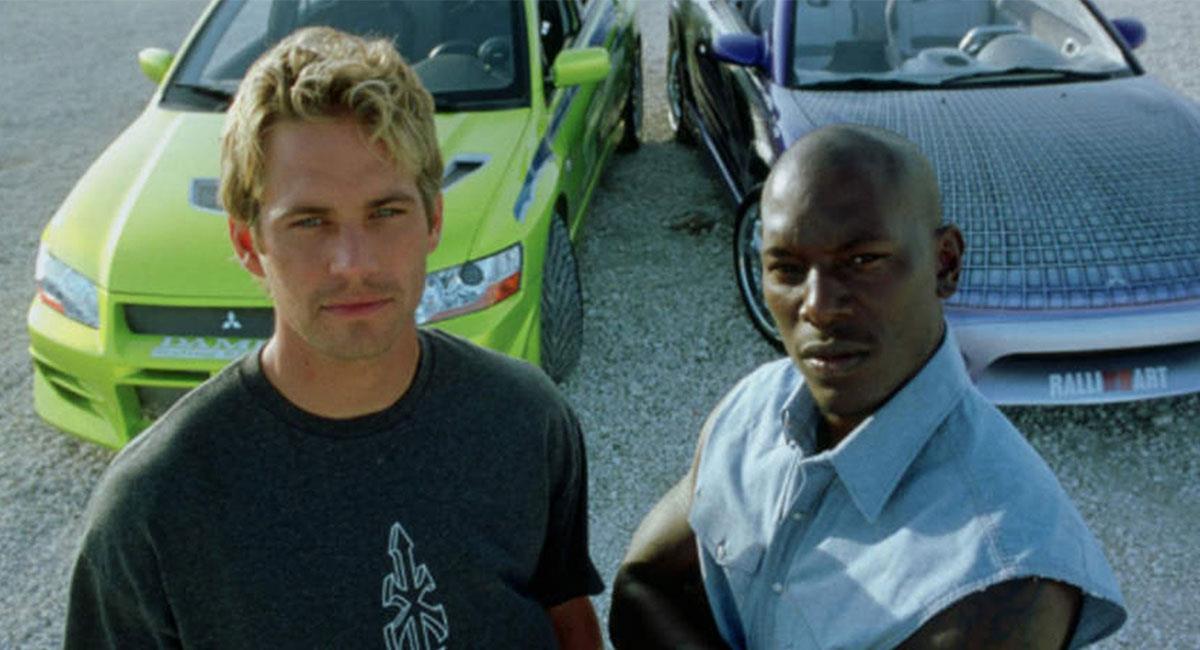 """Tyrese Gibson actuó por primera vez junto a Paul Walker en """"Rápidos y Furiosos 2"""". Foto: Twitter @screenrant"""