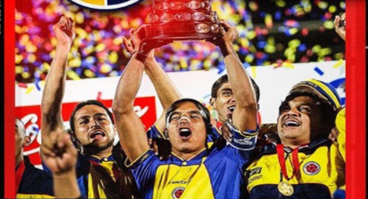 Colombia campeón Copa América 2001. Foto: Instagram Selección Colombia