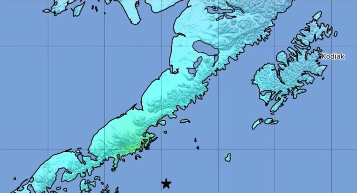 Terremoto de 8,2 en Alaska generó alerta de tsunami. Foto: EFE