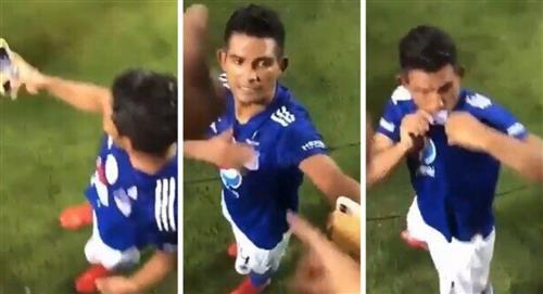 David Macalister Silva respuesta a hincha de Atlético Nacional Florida Cup