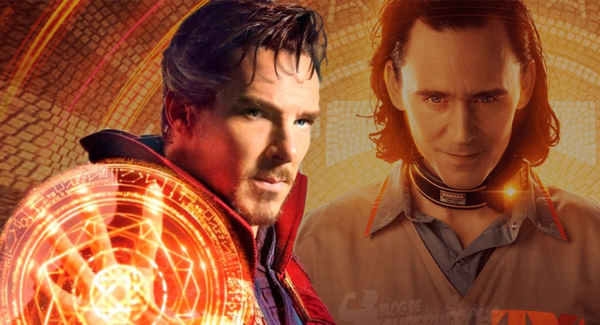 """Doctor Strange in the Multiverse of Madness"" y ""Loki"" estarían conectados. Foto: Twitter @blogsuperheroes"
