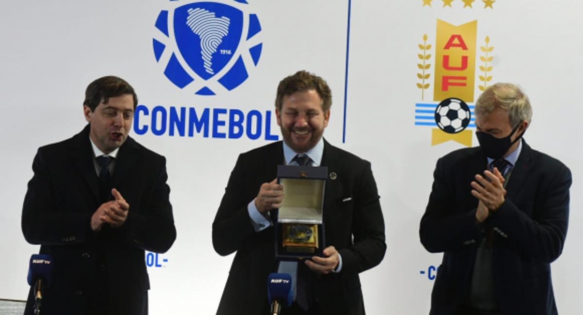 Ignacio Alonso, Alejandro Domínguez y Sebastián Bauzá. Foto: Francisco Flores
