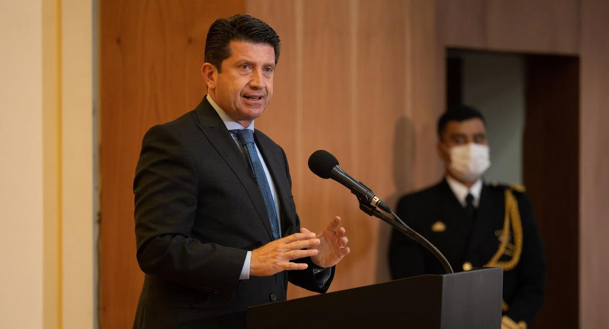 Diego Molano, ministro de Defensa. Foto: Ministerio de Defensa