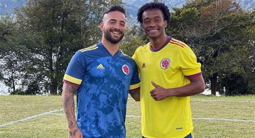 Aseguran que Maluma saló a Cuadrado por partido que jugaron