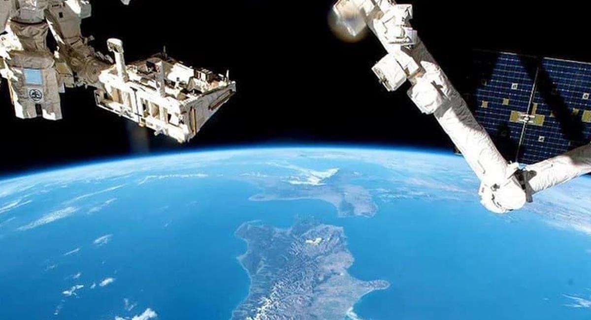 Los astronautas lograron visualizar Japón desde el Espacio, haciendo una 'captura' que se robó la atención. Foto: Twitter @NASA