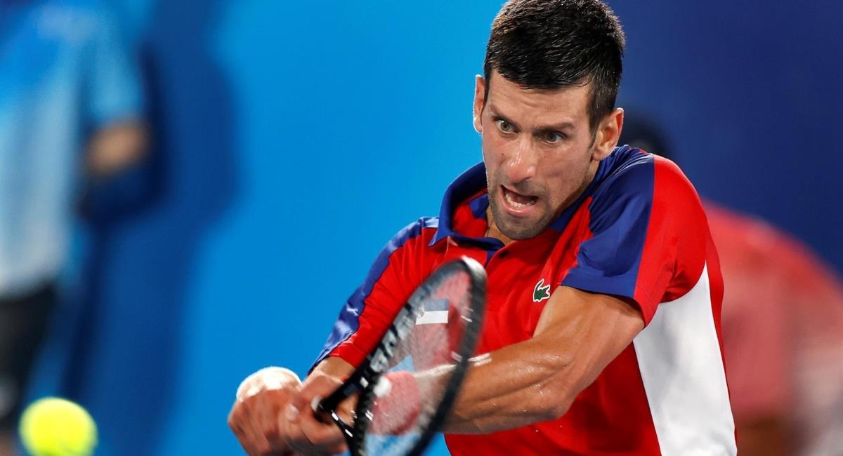 Novak Djokovic clasificado a la semifinal de los Juegos Olímpicos. Foto: EFE