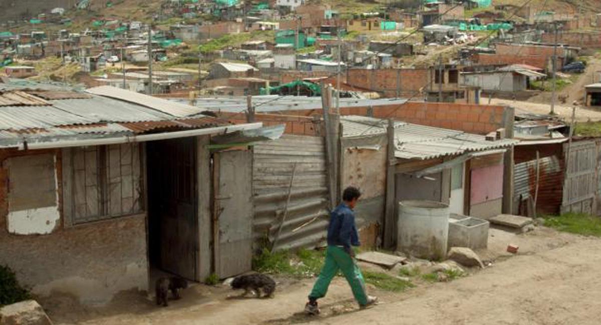 La pobreza en Bogotá se encuentra al mismo nivel de hace 10 años por cuenta de la pandemia. Foto: Twitter @SoyUnPueblo2