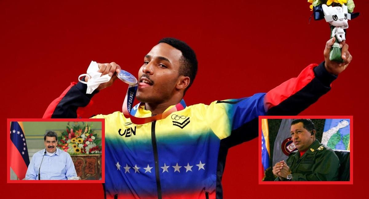 Julio Mayora ganó medalla de plata para Venezuela. Foto: EFE