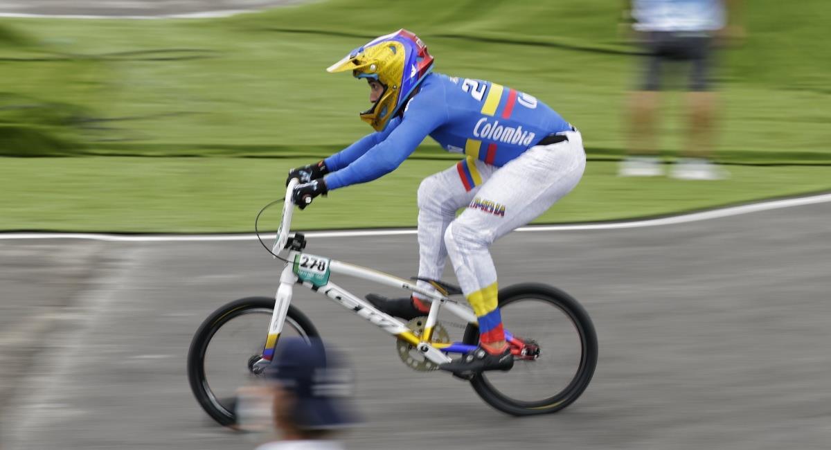 Carlos Ramírez bronce en Tokio 2020. Foto: Twitter COC