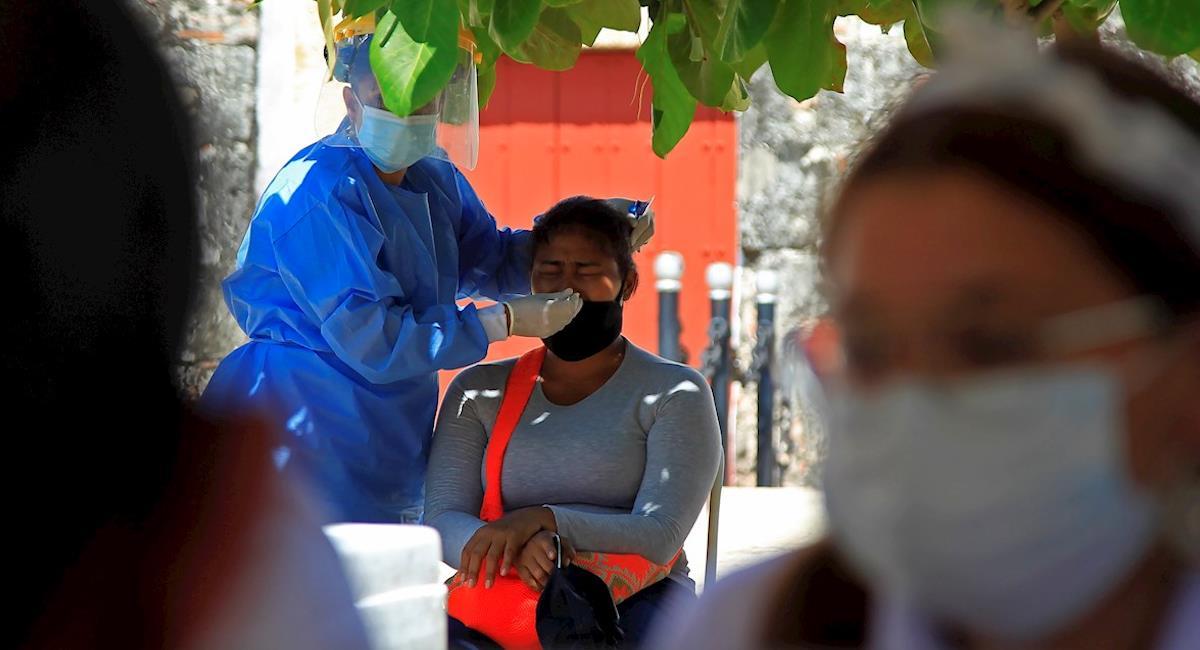 Colombia avanza de manera acelerada en el Plan Nacional de Vacunación. Foto: EFE