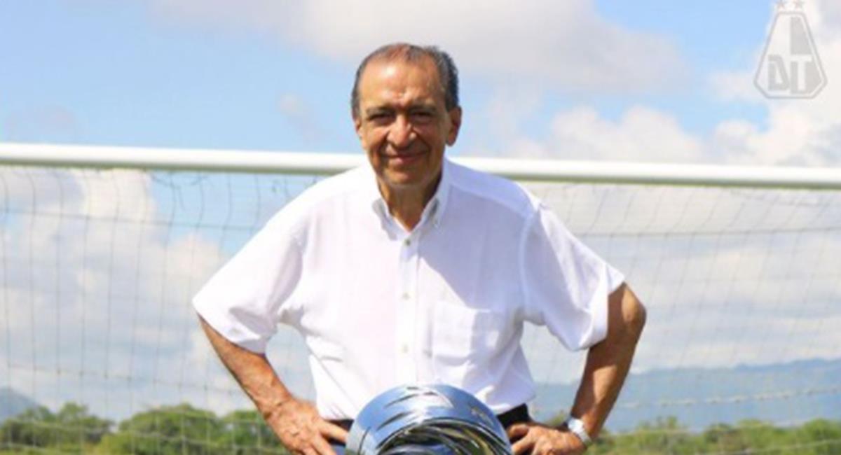 Gabriel Camargo mayor accionista del Deportes Tolima. Foto: Instagram Deportes Tolima