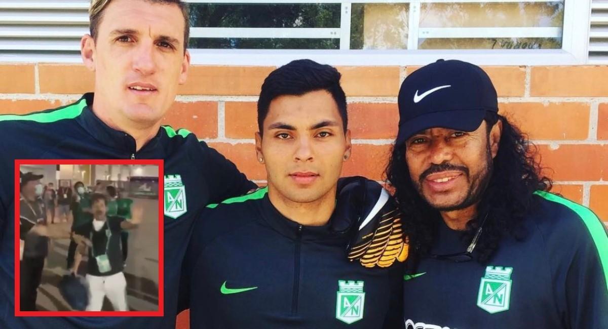 Hijo de René Higuita habló del problema de su papá con los hinchas de Millonarios. Foto: Twitter Prensa redes Andrés Higuita.