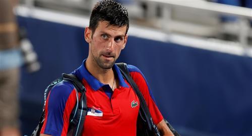 Novak Djokovic eliminado de los Olímpicos