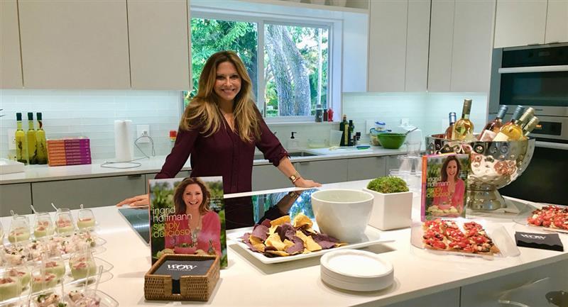 Ingrid Hoffman, puro sabor colombiano en la TV y en la cocina de los Estados Unidos