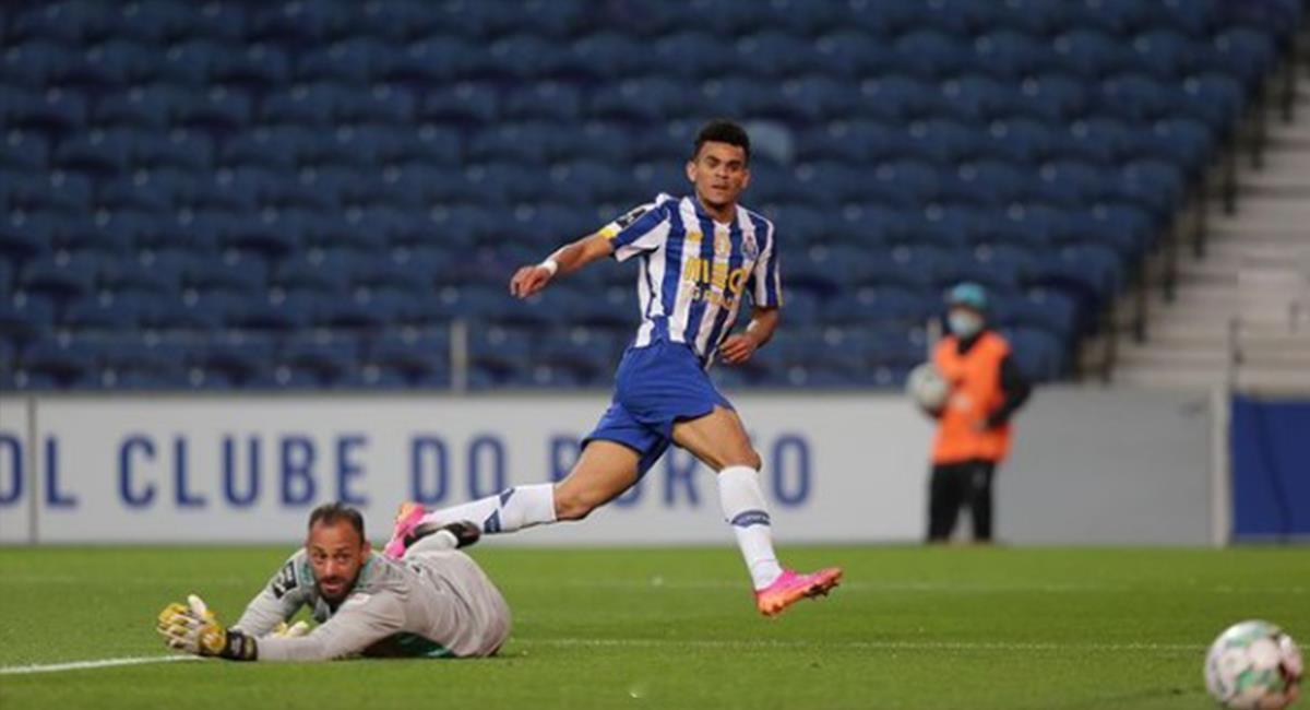 Luis Diaz jugador actual del Porto. Foto: Instagram Luis Diaz