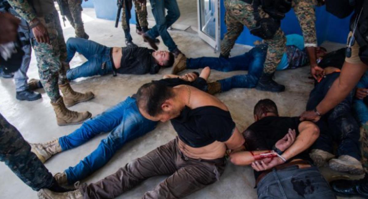 Exmilitares encarcelados en Haití no han recibido asistencia jurídica. Foto: EFE