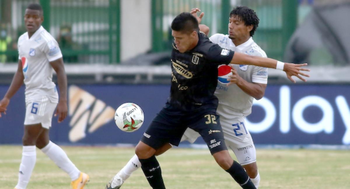 Millonarios vs Once Caldas. Foto: Dimayor
