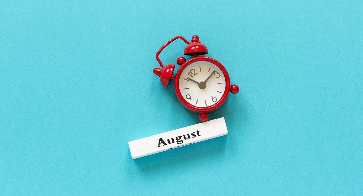 Nuevo mes: oración para que agosto esté lleno de bendiciones. Foto: Shutterstock