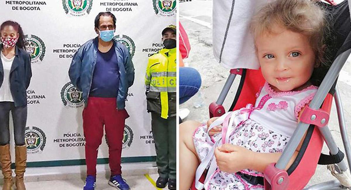 Por orden la juez quinta de Control de Garantías, madre y padrastro de Sara Sofía Galván otra vez están en libertad. Foto: Twitter @ernestomaciast
