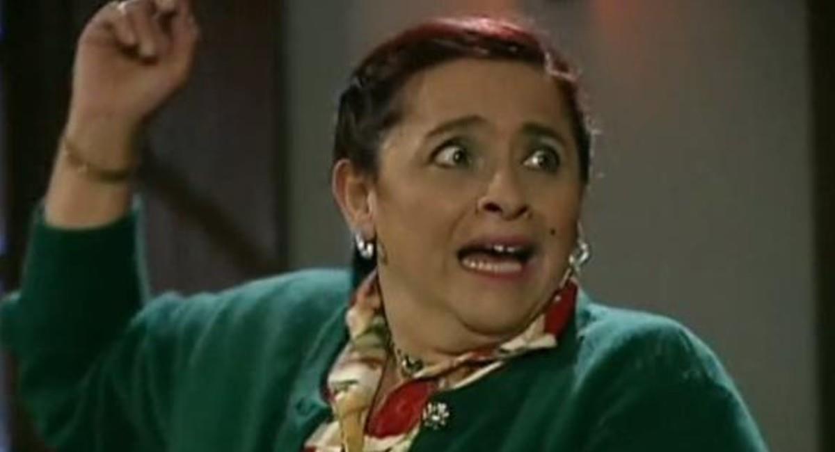 Interpretó a 'Doña Hortensia' en la novela. Foto: Instagram