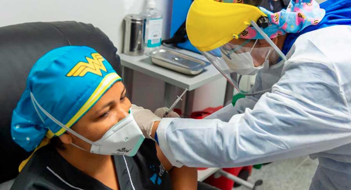 Colombia supera los 28 millones de vacunados contra la COVID-19. Foto: Presidencia de Colombia