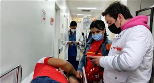 Estado de salud de hincha brutalmente golpeado en el Campín