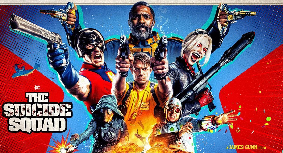 """""""The Suicide Squad"""" es calificada como una de las mejores películas del 2021. Foto: Twitter @SuicideSquadWB"""